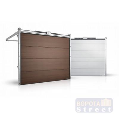 Гаражные секционные ворота серии Alutech Prestige 5500x2625