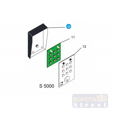 CAME Корпус S5000 119RIR176
