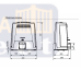 Came BKV25AGS привод для откатных ворот (801MS-0320)