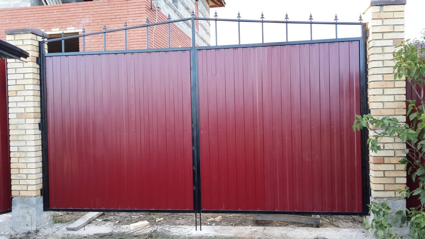 картинки ворот на забор ваша